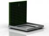 NX part: frp-open-green-4545