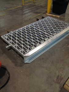 Custom Grate with Lintel
