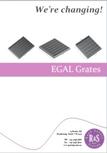 We're Changing - EGAL Grates