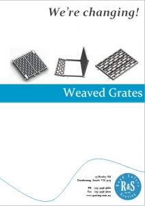 We're Changing - Weaved Grates