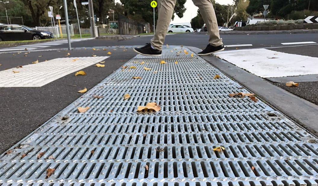 Small Gap Big Difference Road Safety Grating