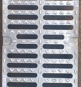 Ductle Transverse Bar trench Grate